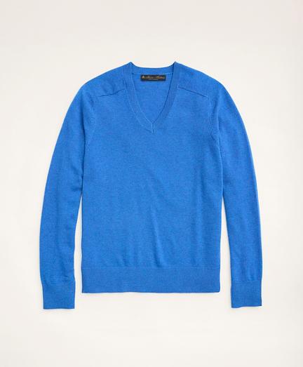 3-Ply Cashmere V-Neck Sweater