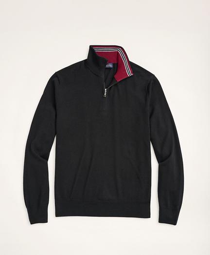Italian Merino Half-Zip Sweater