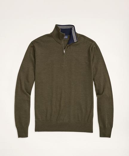 Merino Half-Zip Sweater