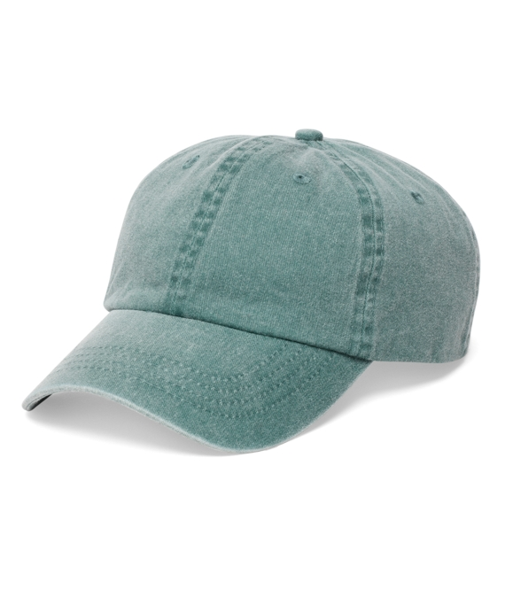 Faded Cotton Baseball Cap - Brooks Brothers f18a9835cf9