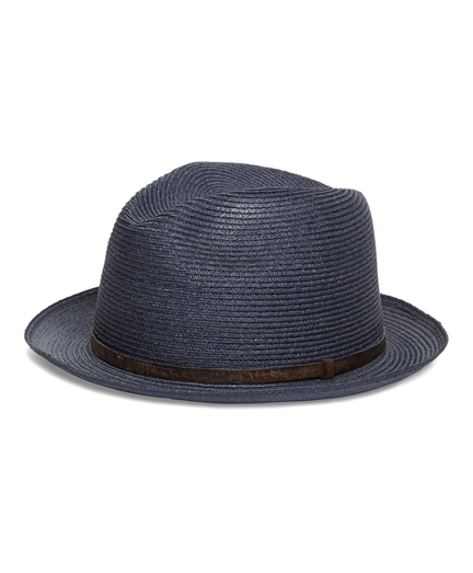 Biltmore Straw Hat with Leather Band