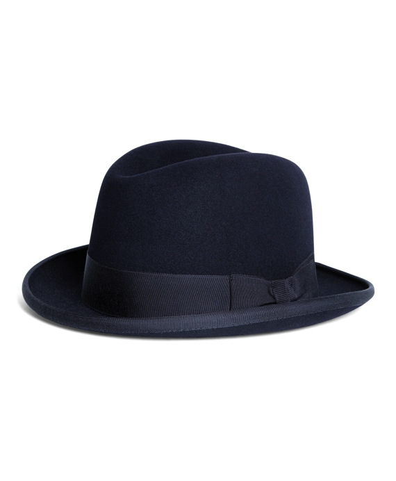 110f70f8967 Men s Lock and Co. Supreme Navy Homburg