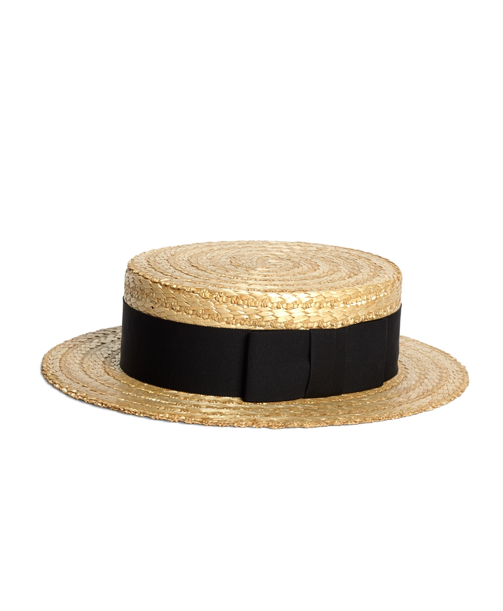 cd6c2fb106d Men s Lock and Co. Straw Boater Hat with Black Ribbon