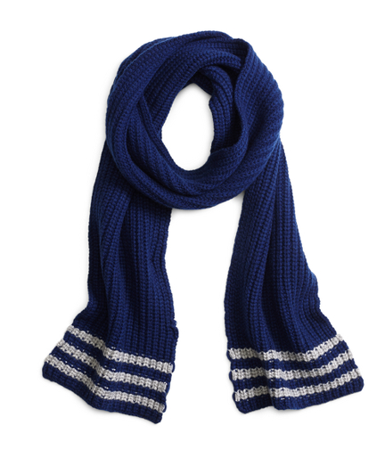 Tipped Cashmere Knit Scarf