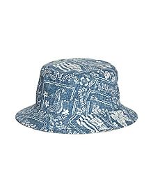 Tropical Print Bucket Hat