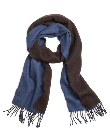Double-Faced Wool Scarf
