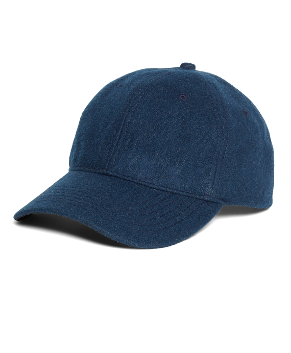 Wool Baseball Hat Blue