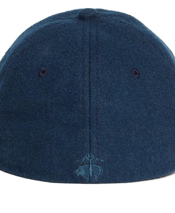 Brooks Brothers Blue Wool Blend Baseball Hat