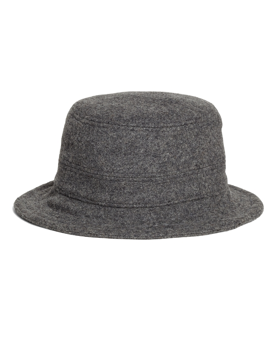 Wool Bucket Hat Light Grey