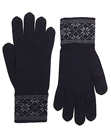 Herringbone and Fair Isle Gloves