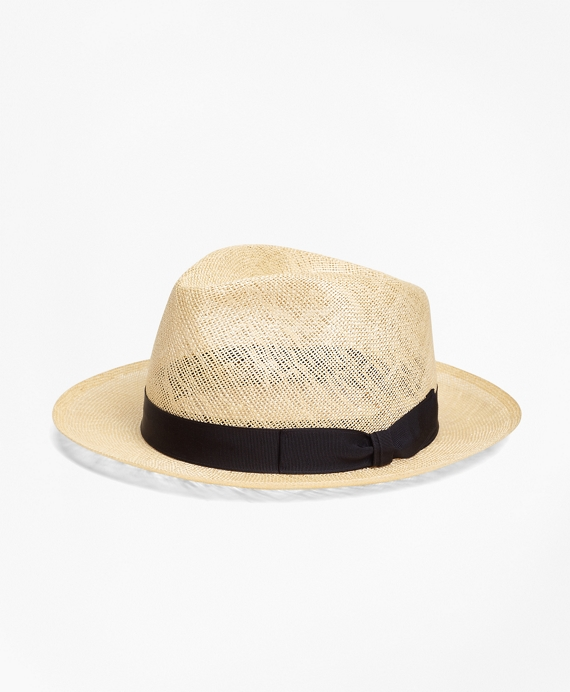 Straw Fedora Natural