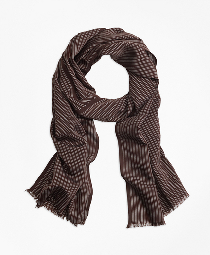 Double-Pinstripe Scarf