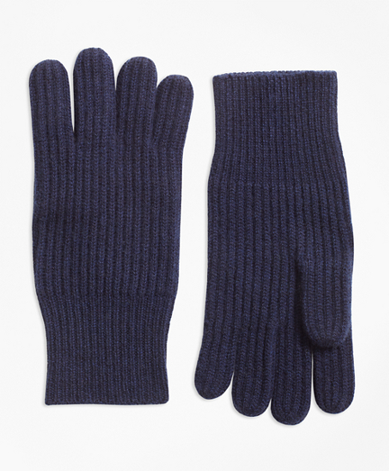 Ribbed Cashmere Gloves. remembertooltipbutton 549be4745