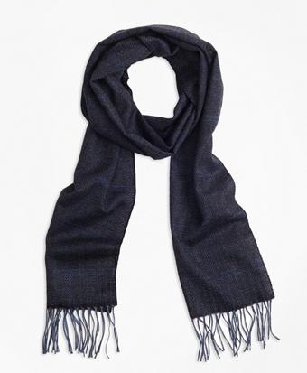 Saxxon™ Wool Herringbone Scarf