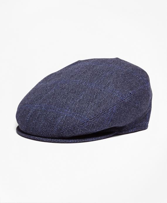 Herringbone Saxxon™ Wool Ivy Navy