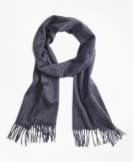 Saxxon™ Wool Scarf with Fringe