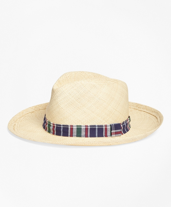 Straw Panama Hat Natural