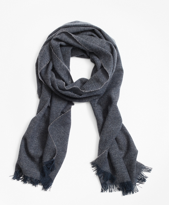 Cashmere Scarf Dark Grey