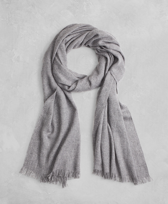 Golden Fleece® Cashmere Silk Scarf Grey