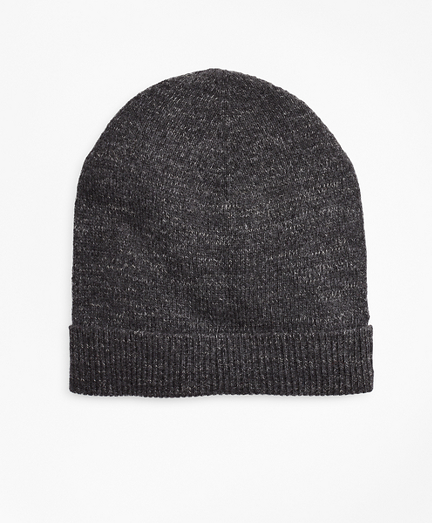 Ribbed Marled Wool Hat