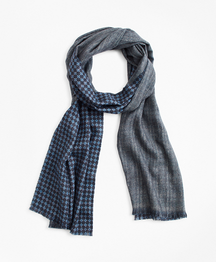 Double-Faced Cashmere Scarf