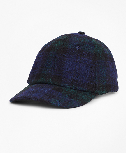 Harris Tweed Black Watch Baseball Hat