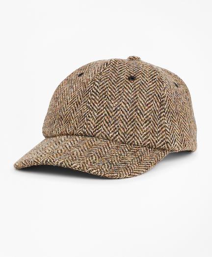 Harris Tweed Herringbone Baseball Hat