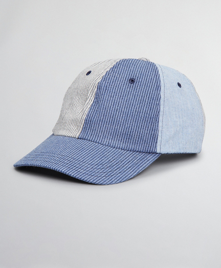 Seersucker Fun Baseball Cap