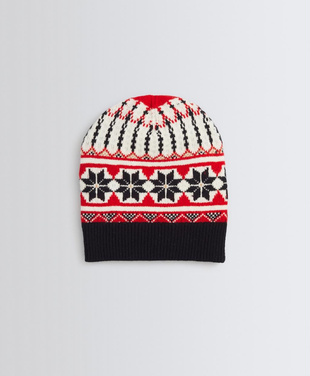 Fair Isle Merino Wool  Hat