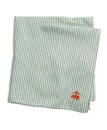 Micro Check Pocket Square