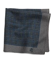 Mini Check Pocket Square