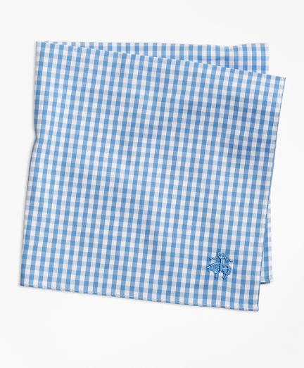 Supima® Cotton Gingham Pocket Square