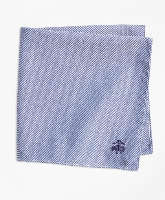 Pindot Pocket Square Blue