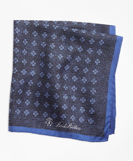 Geo Rose Pocket Square