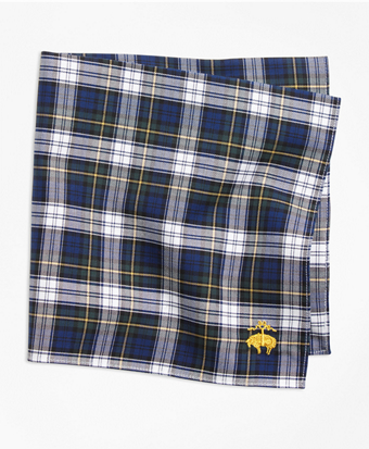 Dress Gordon Tartan Pocket Square