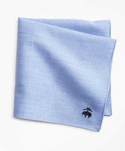 Cotton Dobby Pocket Square