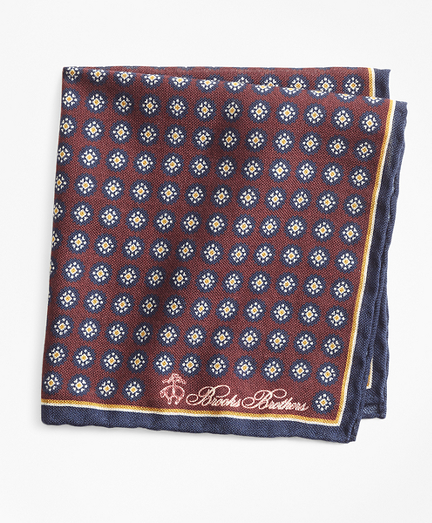 Medallion Pocket Square
