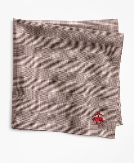 Glen Plaid Pocket Square