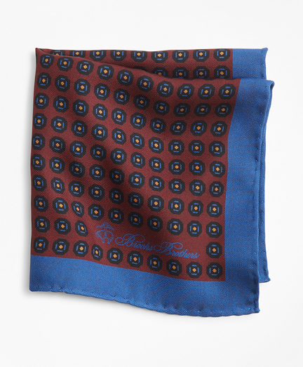 Foulard Plaid Pocket Square