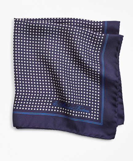 Dots Pocket Square