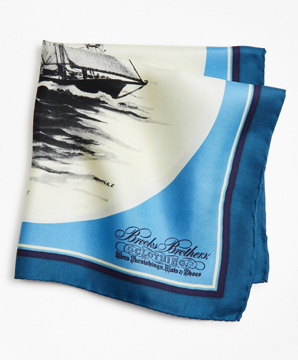 Limited Edition Archival Collection Spring 1977 Silk Pocket Square