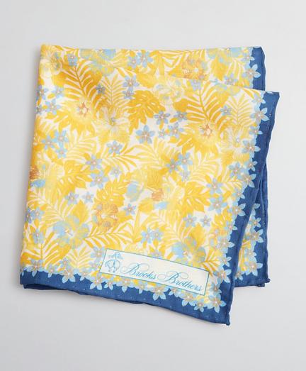 Tropical Print Pocket Square