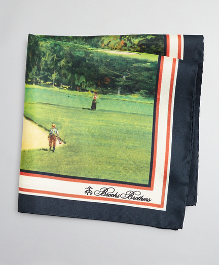Limited Edition Archival Collection Summer 1985 Silk Pocket Square