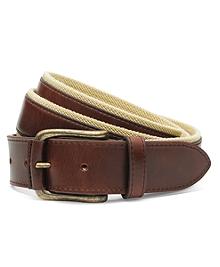 Leather Boat Shoe Belt