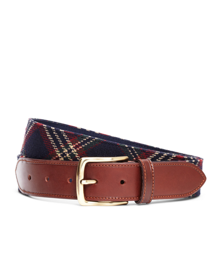 Signature Tartan Wool Belt