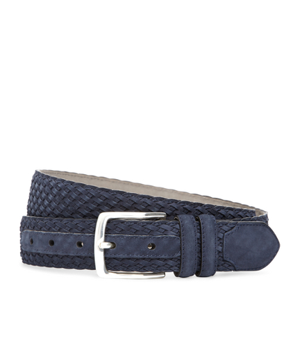 Suede Woven Belt