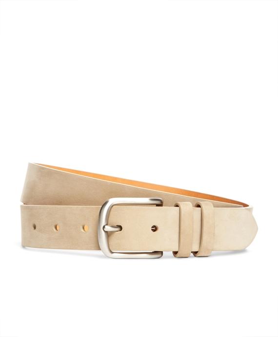 Nubuck Belt Tan