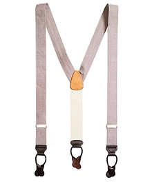 Chambray Suspenders