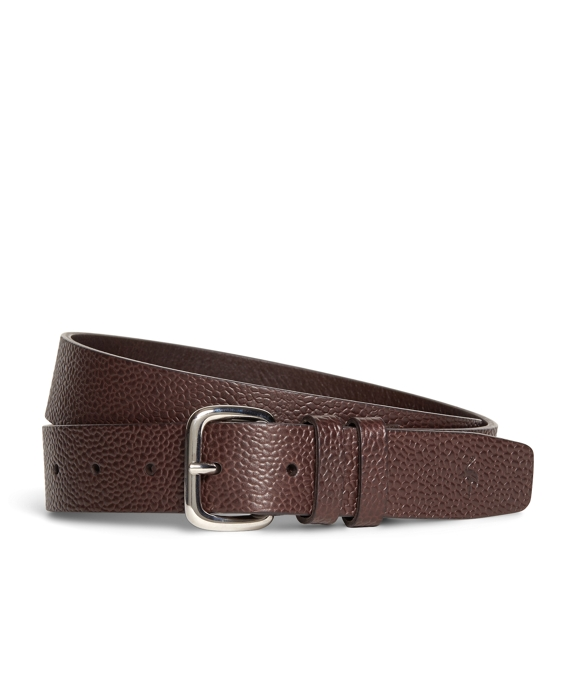Harrys Of London® Scotch Grain Leather Belt Brown