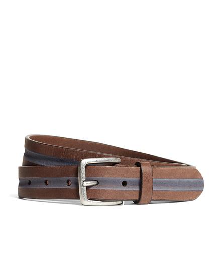 Stripe Chino Belt